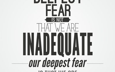 What is our deepest fear?
