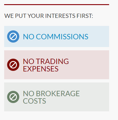 Nop commision brokerage fees