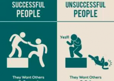 successful people want others to succeed